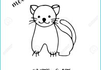 Blank Cat In the Hat Template Lovely Cat Drawing Template at Getdrawings