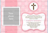 Blank Christening Invitation Templates Fresh Girls Baptism Invitations Digital File by Shestutucutebtq On Etsy