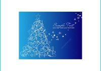 Christmas Card Template for Photoshop Beautiful Christmas Tree Vector Collection Vector Pack Full Of Various