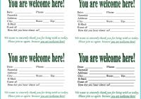 Church Visitor Card Template Awesome Enchanting Business Cards Templates for Word Adornment Business