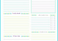 Daily Schedule Template Printable Best Of Personal Planner Printable 2018