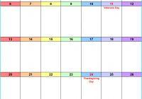 Quarterly Planner Template Fresh November 2016 Calendar as Printable Word Excel & Pdf Templates