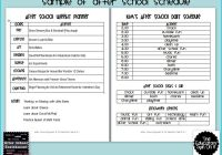 Quarterly Planner Template Lovely Playtime for Kids Routine Chart