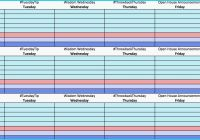Social Media Editorial Calendar Template New Content Calendar Spreadsheet Fresh An Example An Editorial Calendar