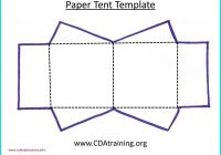 Tent Card Template Awesome Paper Tent Template Weoinnovate